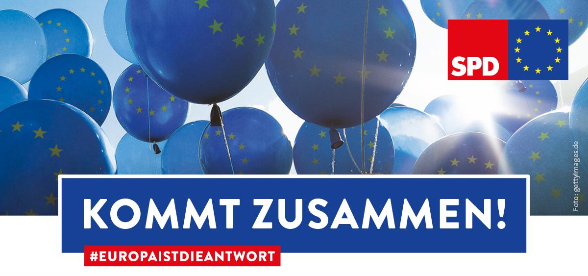 """Europawahlkampf der SPD: """"Kommt-Zusammen-Tour"""" in Wolfsburg"""