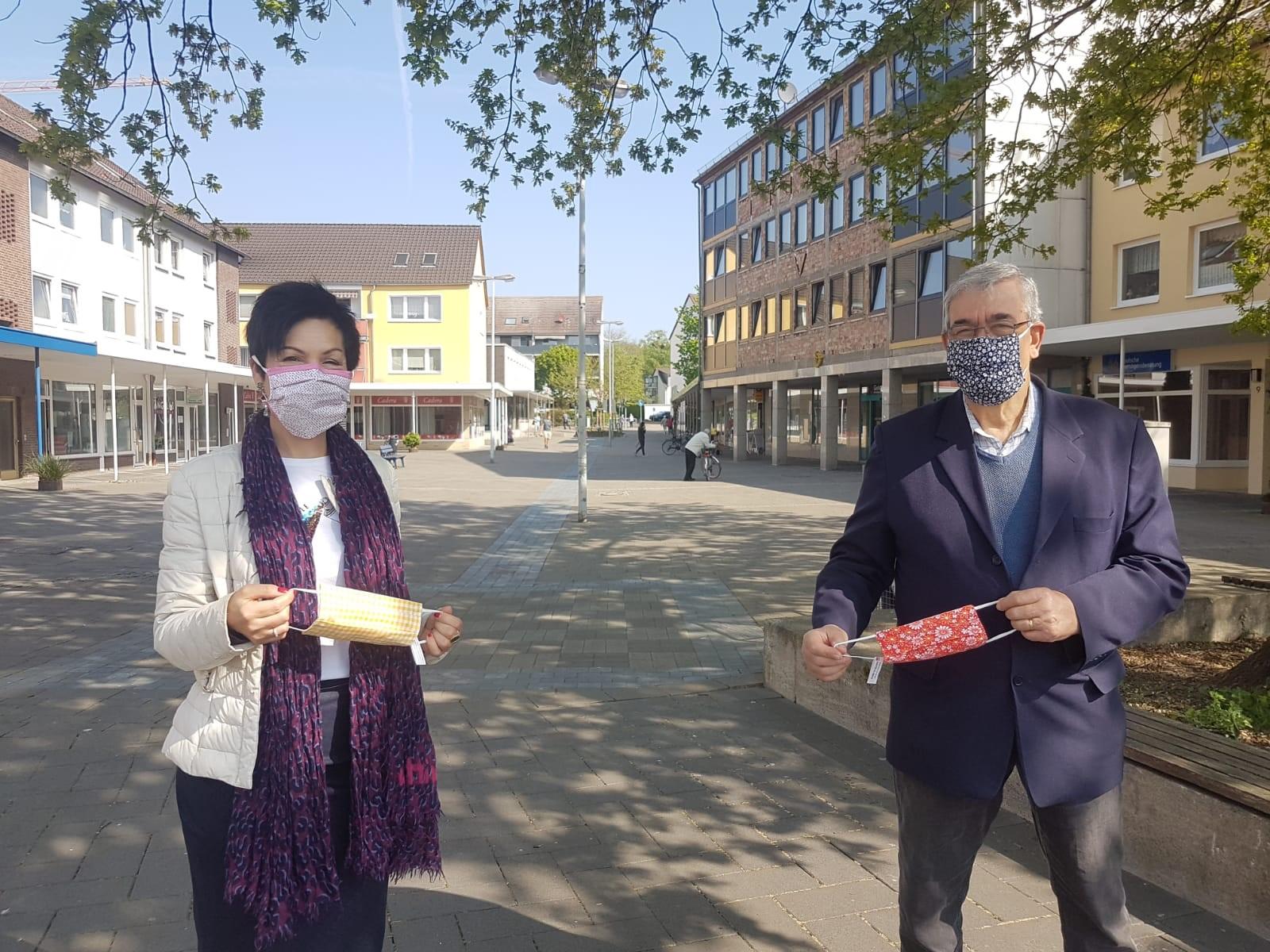 Kostenlose Schutzmasken für die Nordstadt